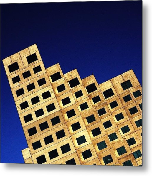 Downtown - Miami Metal Print