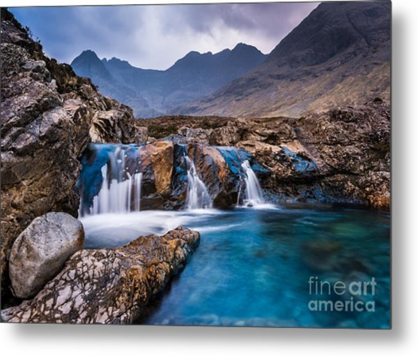 Fairy Pools Metal Print by Maciej Markiewicz