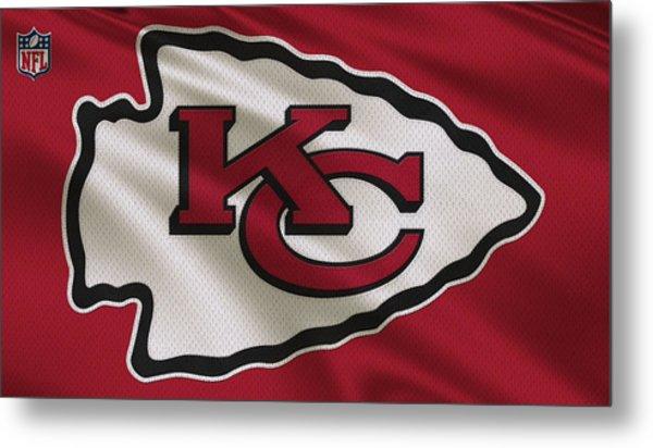 Kansas City Chiefs Uniform Metal Print