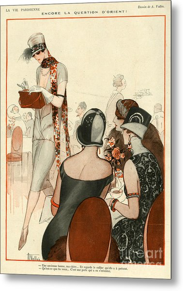 La Vie Parisienne 1924 1920s France A Metal Print by The Advertising Archives