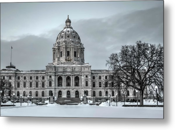Minnesota State Capitol St Paul Metal Print