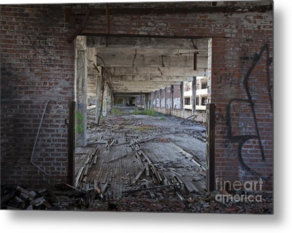 Packard Factory Metal Print