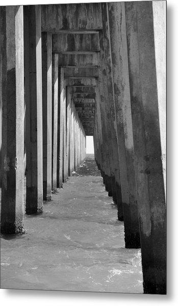 Pensacola Beach Pier Metal Print