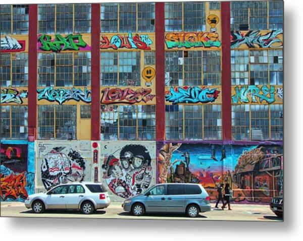 5 Pointz Graffiti Art 10 Metal Print