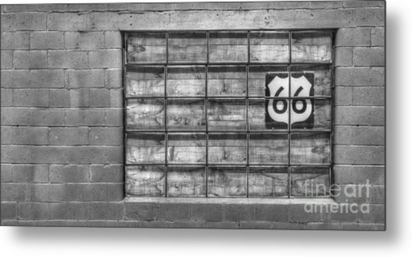 Route 66 Metal Print by Twenty Two North Photography