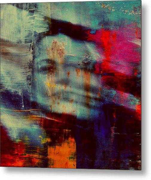 Shadows (portrait) Metal Print
