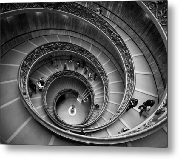 The Vatican Stairs Metal Print