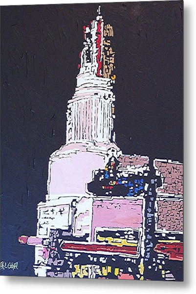 Tower Theatre Metal Print by Paul Guyer
