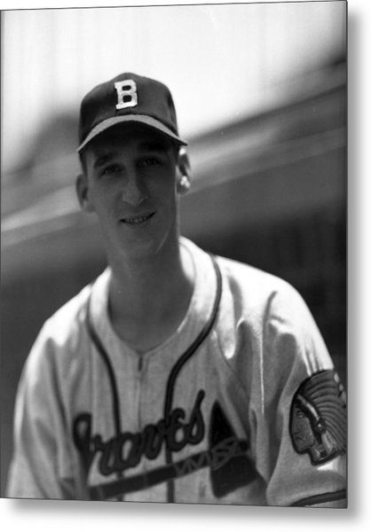 Warren Spahn Metal Print