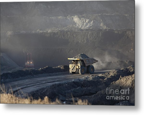 Wyoming Coal Mine Metal Print