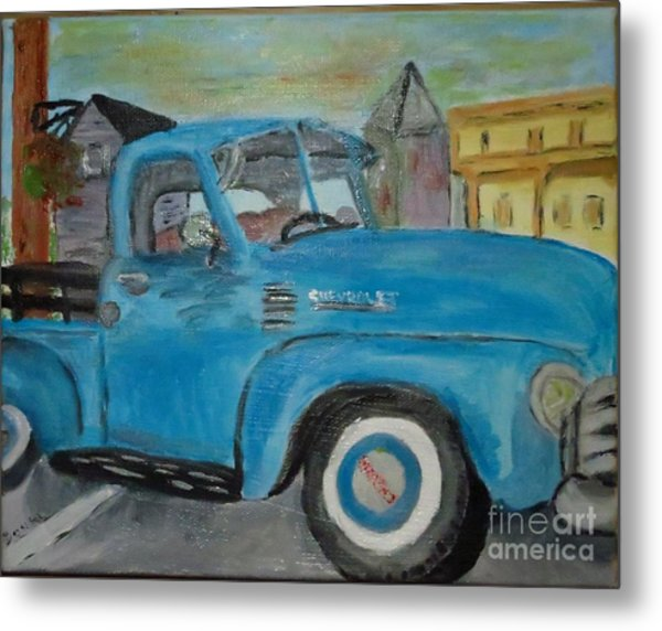 50 Chevy In Tannersville Metal Print