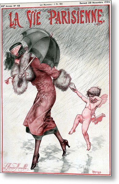 La Vie Parisienne 1924 1920s France Metal Print