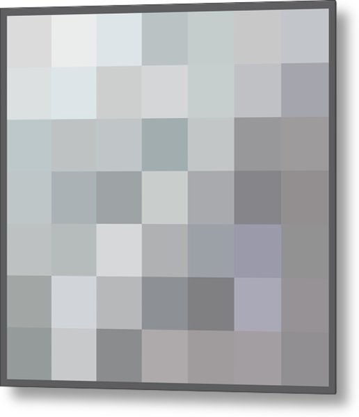 50 Shades Of Grey Metal Print