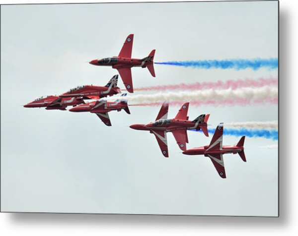 50th Anniversary 'red Arrows' Metal Print