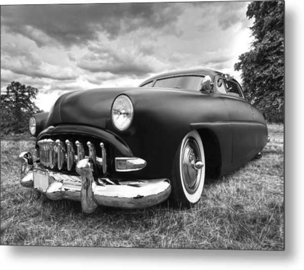52 Hudson Pacemaker Coupe Metal Print