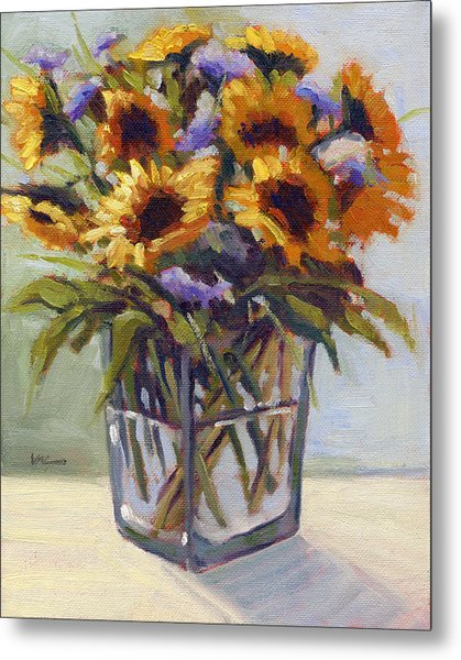 Summer Bouquet 4 Metal Print
