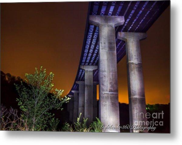 540 Bridge Metal Print