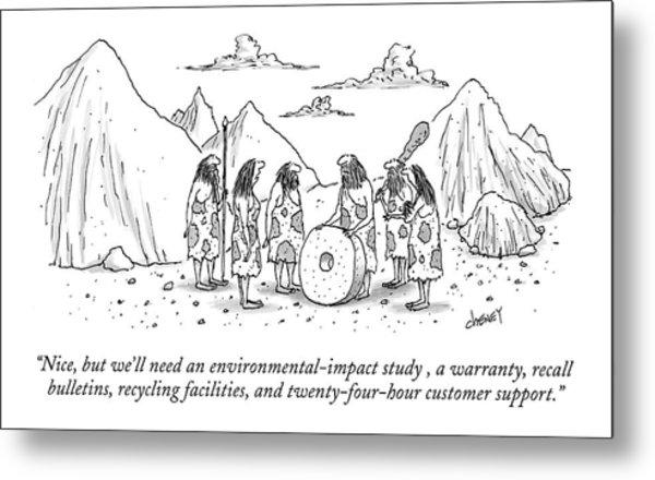 Nice, But We'll Need An Environmental-impact Metal Print