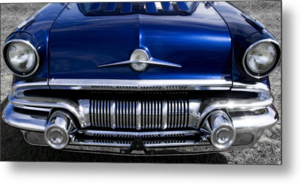 '57 Pontiac Safari Starchief Metal Print