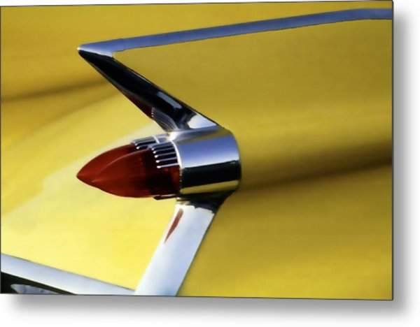 1959 Cadillac Coupe De Ville Metal Print