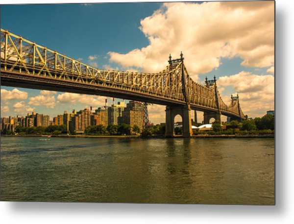 59th Street Bridge Ny Metal Print