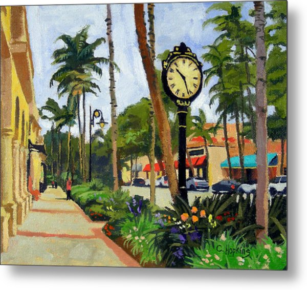 5th Avenue Naples Florida Metal Print