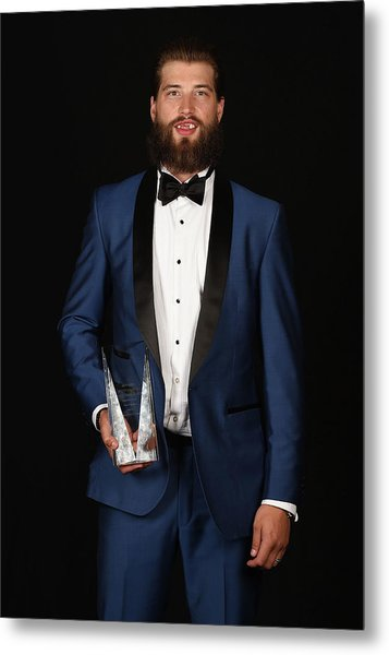 2015 Nhl Awards - Portraits Metal Print by Brian Babineau