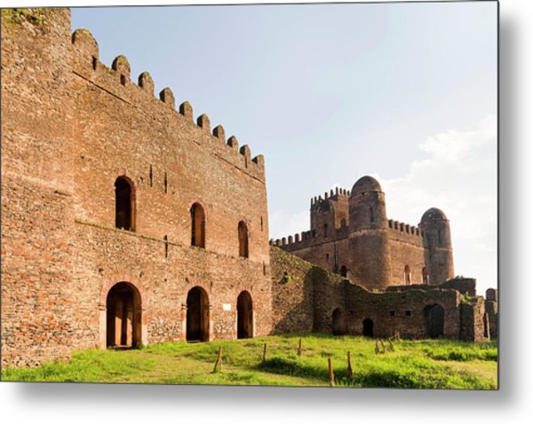 Fasil Ghebbi, A Fortress-like Royal Metal Print