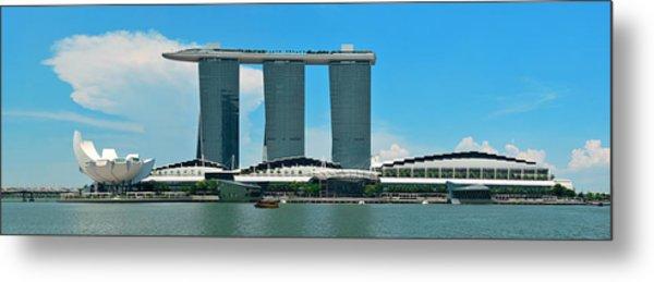 Marina Bay Sands Metal Print