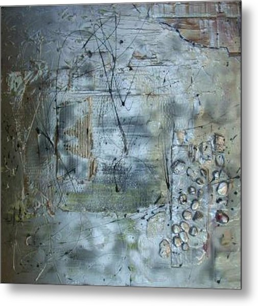 .........mixed Media........ Metal Print by Wiola Anyz