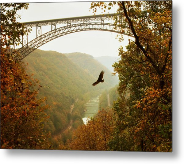 New River Gorge Bridge Metal Print