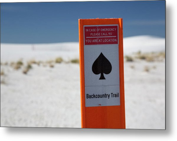 White Sands National Monument Metal Print by Jim West