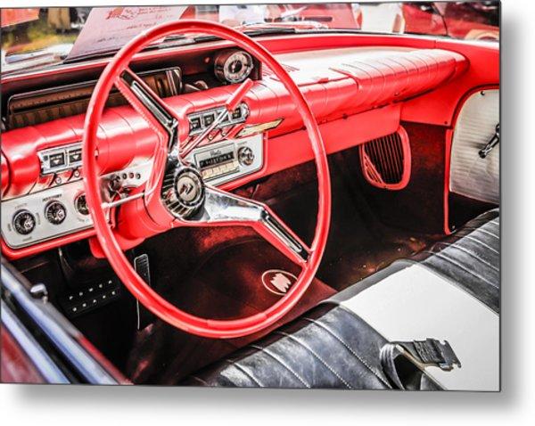 60 Buick Le Sabre Metal Print