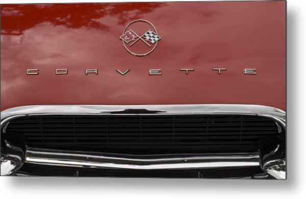 62 Corvette Metal Print