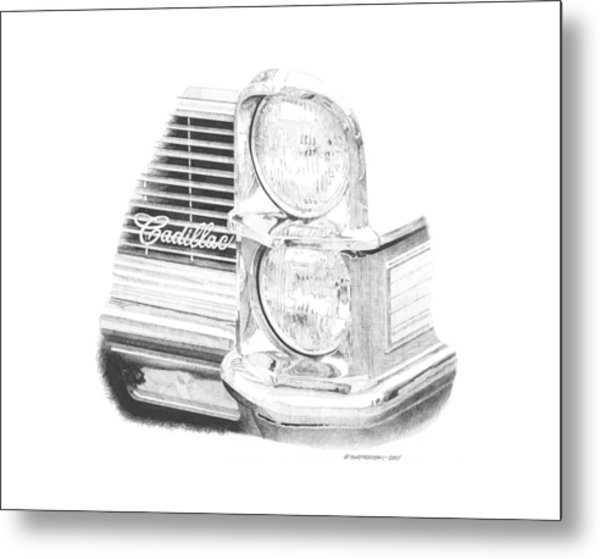 65 Caddy Metal Print by Paul Shafranski