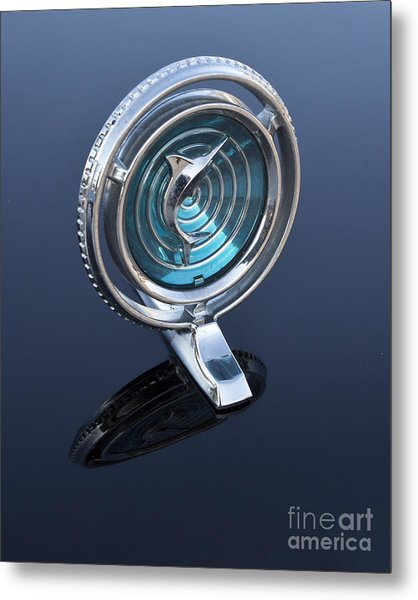 66 Marlin Hood Ornament Metal Print