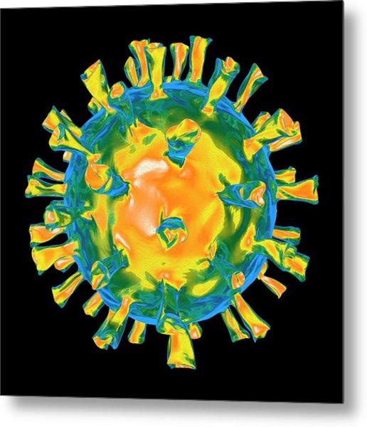Virus Metal Print by Mehau Kulyk