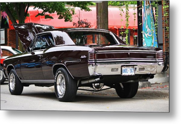 67' Chevelle Classic Metal Print