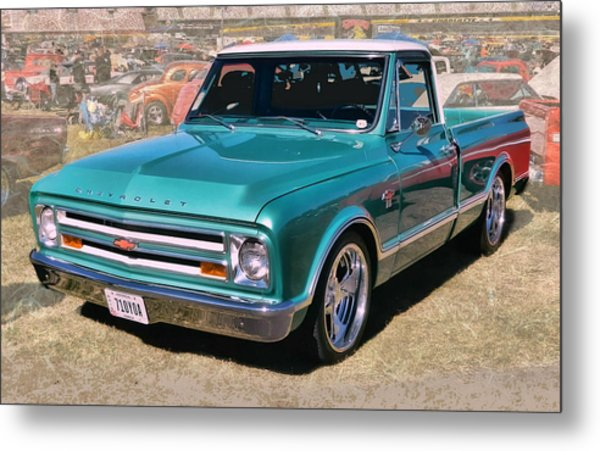 '67 Chevy Truck Metal Print