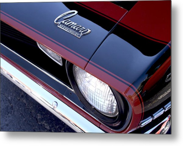 '68 Camaro Metal Print by Mike Maher