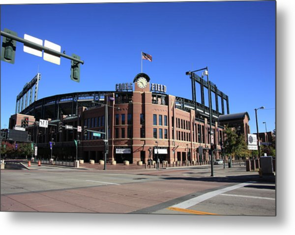 Coors Field - Colorado Rockies Metal Print
