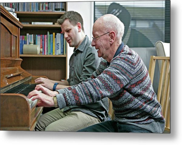Dementia Resource Centre Metal Print by Lewis Houghton/science Photo Library