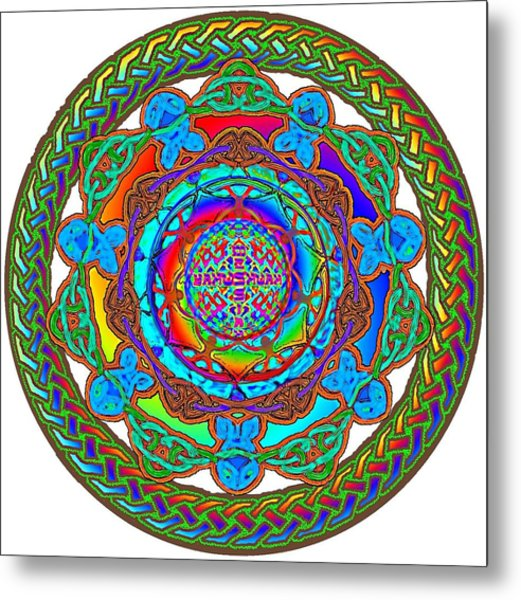 7 Fish Rainbow Yahushuah Messiah Metal Print