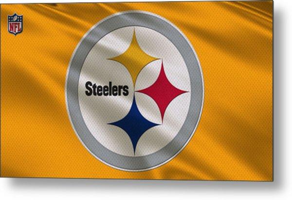 Pittsburgh Steelers Uniform Metal Print