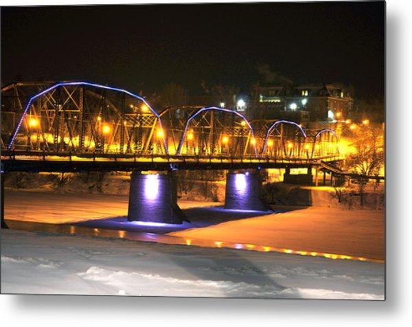 Victoria Bridge Metal Print by Cristina Sofineti