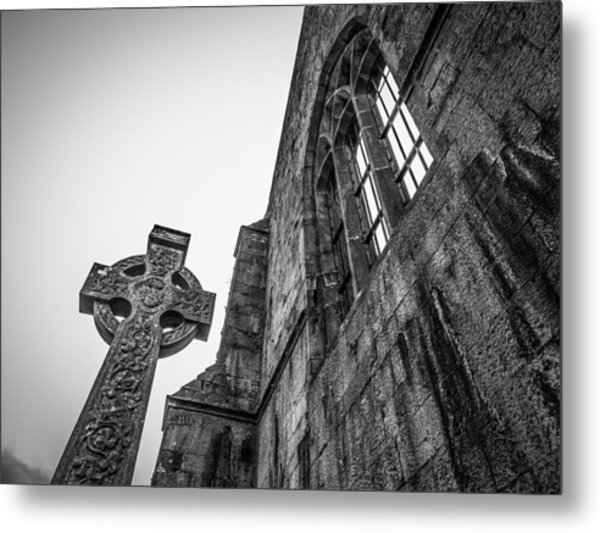 700 Years Of Irish History At Quin Abbey Metal Print