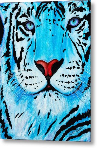 Blue Bengal Metal Print
