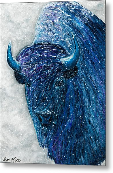 Buffalo  - Ready For Winter Metal Print
