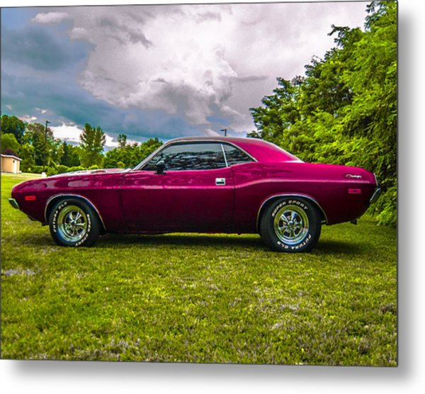 73 Dodge Challenger Side Photograph By Daniel Enwright