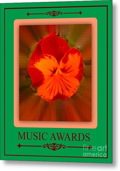 Music Awards Metal Print by Meiers Daniel